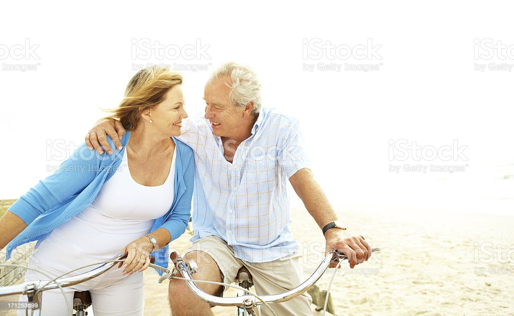 They are the light of each other's lives royalty-free stock photo