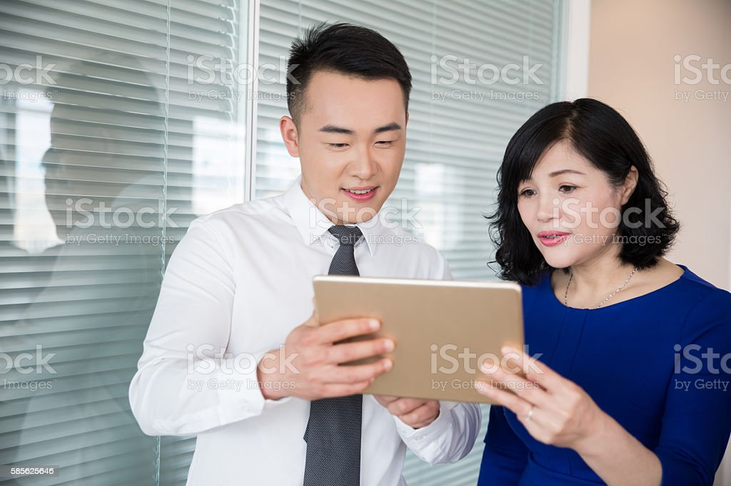 they are the of partners stock photo