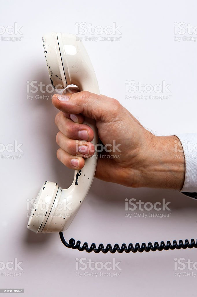 They call you ... stock photo