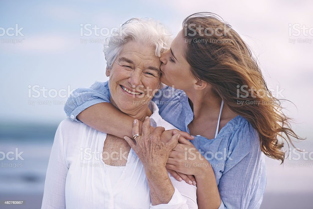 They don't take a moment for granted stock photo