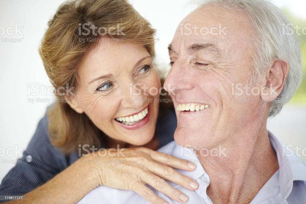 They have the love that will last a lifetime royalty-free stock photo