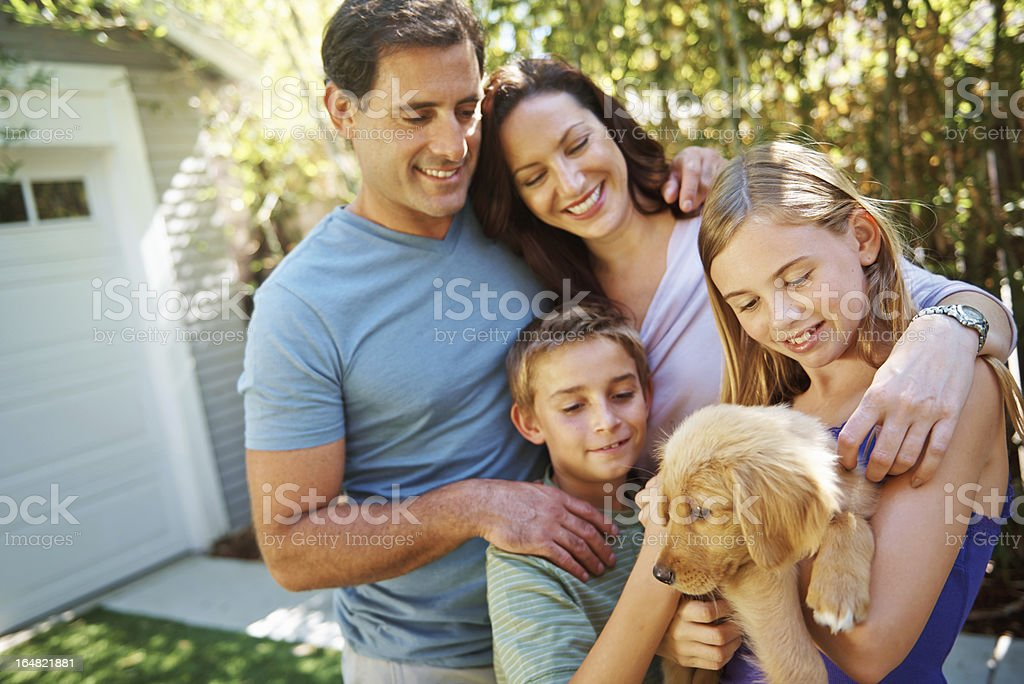 They love their animals royalty-free stock photo