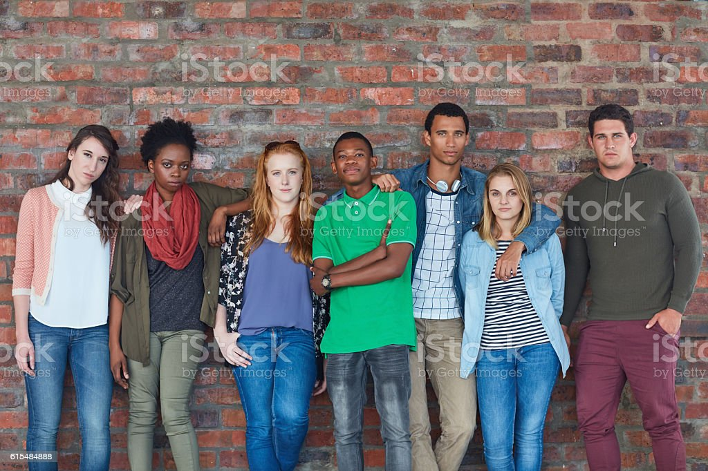 They make campus cool stock photo