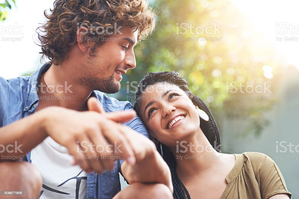 They make the perfect couple stock photo