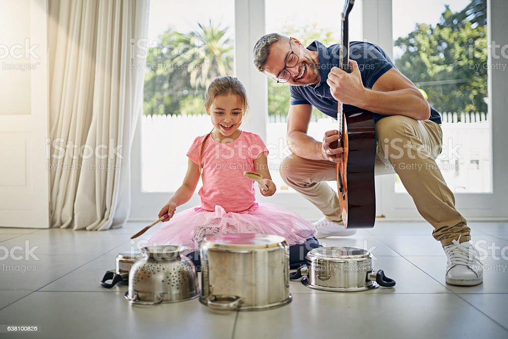 They make the perfect duo stock photo