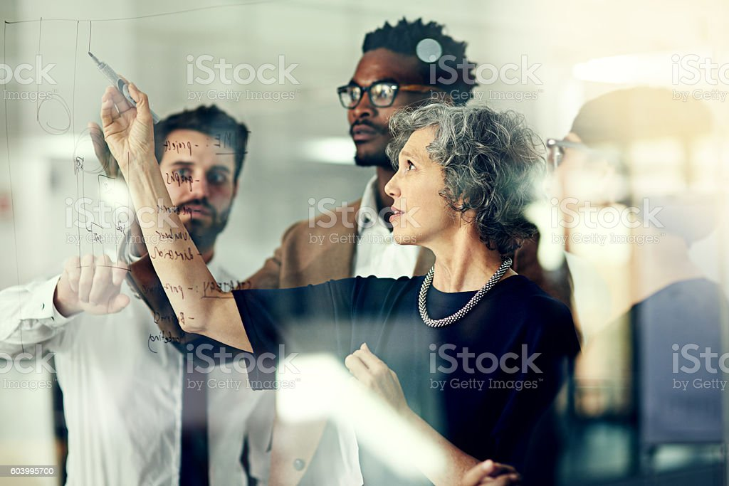 They never fall short of big ideas stock photo