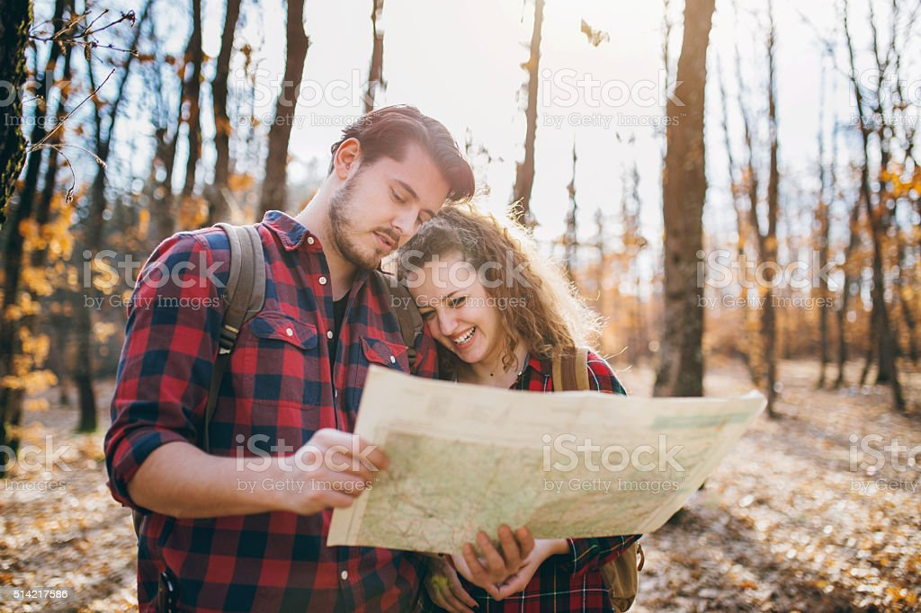 They share a love for nature stock photo