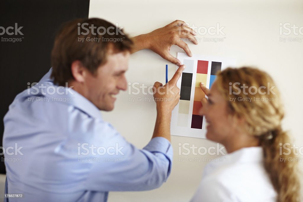 They share responsibilities and decisions equally royalty-free stock photo