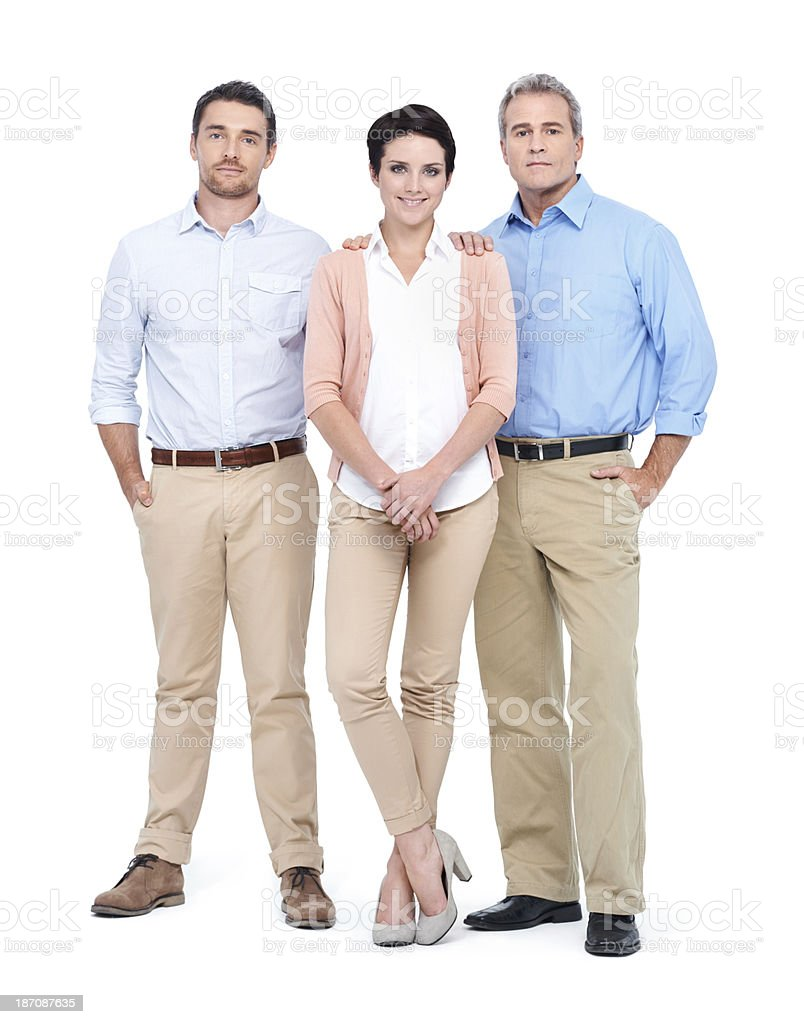 They support her decision fully - Business royalty-free stock photo