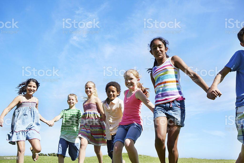 They will never let go royalty-free stock photo