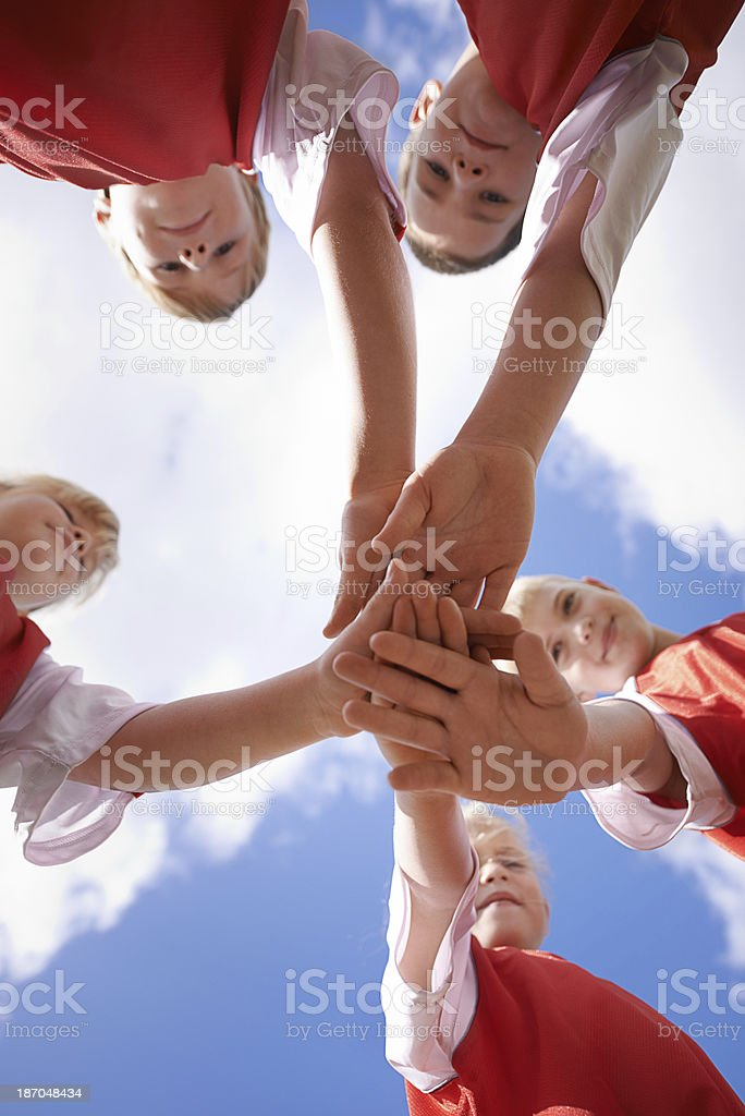 They'll do it together royalty-free stock photo