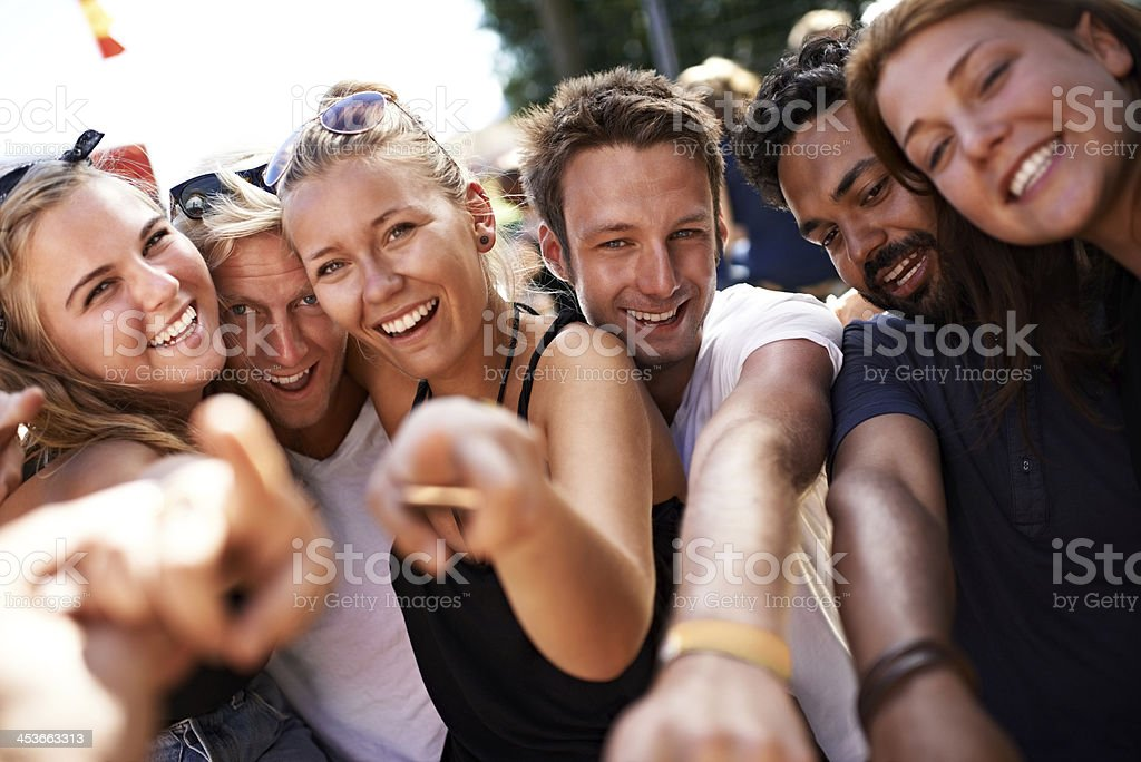 They'll find the fun in everything stock photo