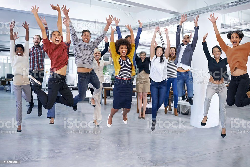 They'll jump at the chance to help you out stock photo