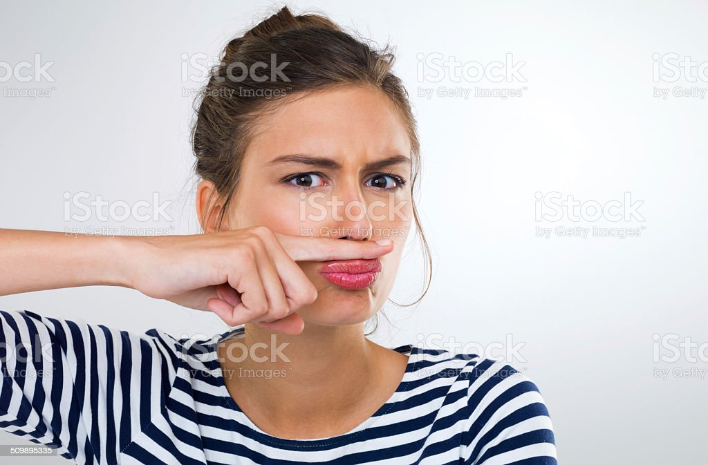 They'll never find me with this disguise stock photo