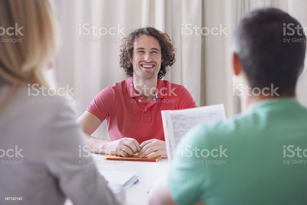 They'll secure his financial future royalty-free stock photo