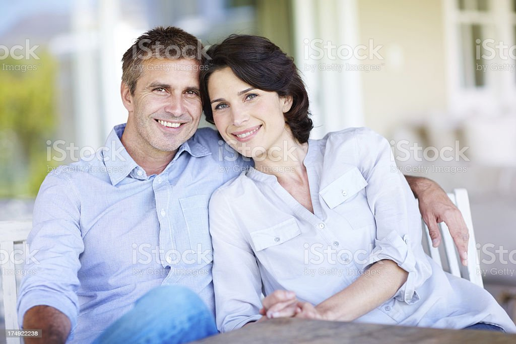 They're a great couple royalty-free stock photo