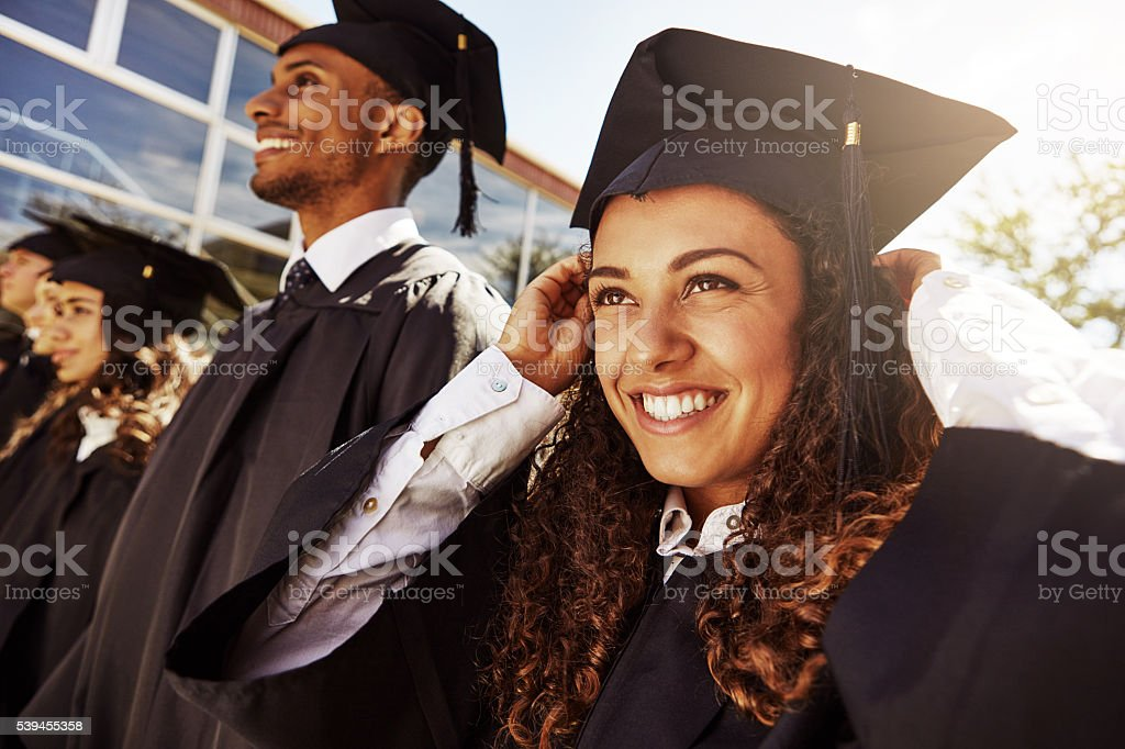 They're a new generation of success stories stock photo