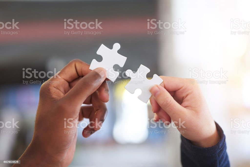 They're a perfect fit stock photo