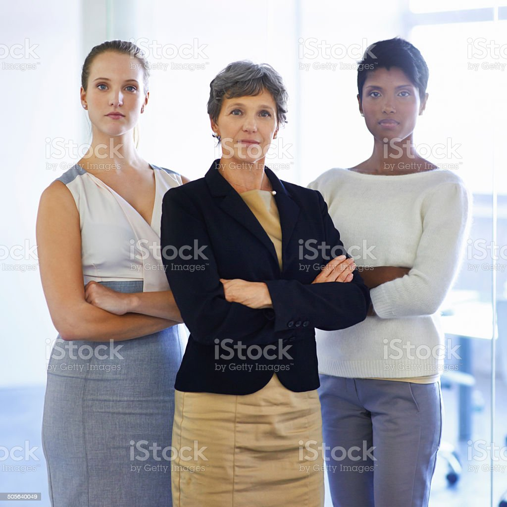 They're a team you can trust to deliver stock photo
