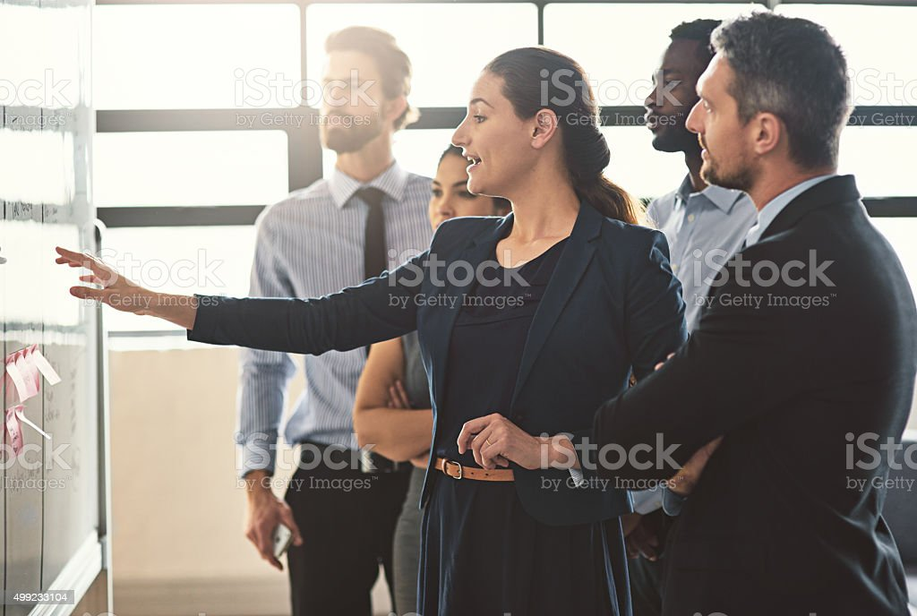 They're business pioneers stock photo