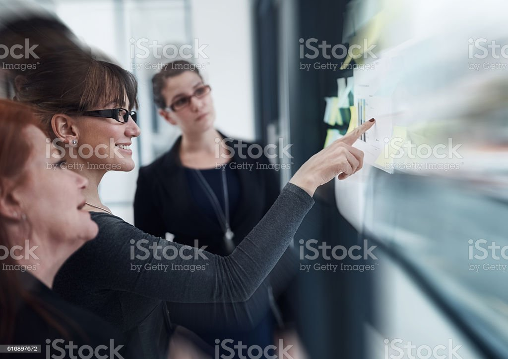They're highly driven to keep on achieving success stock photo