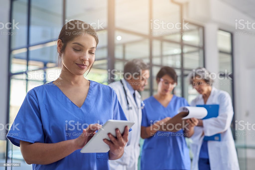 They're making some groundbreaking medical discoveries stock photo
