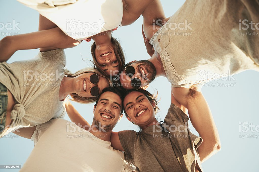 They're making the most of summer stock photo