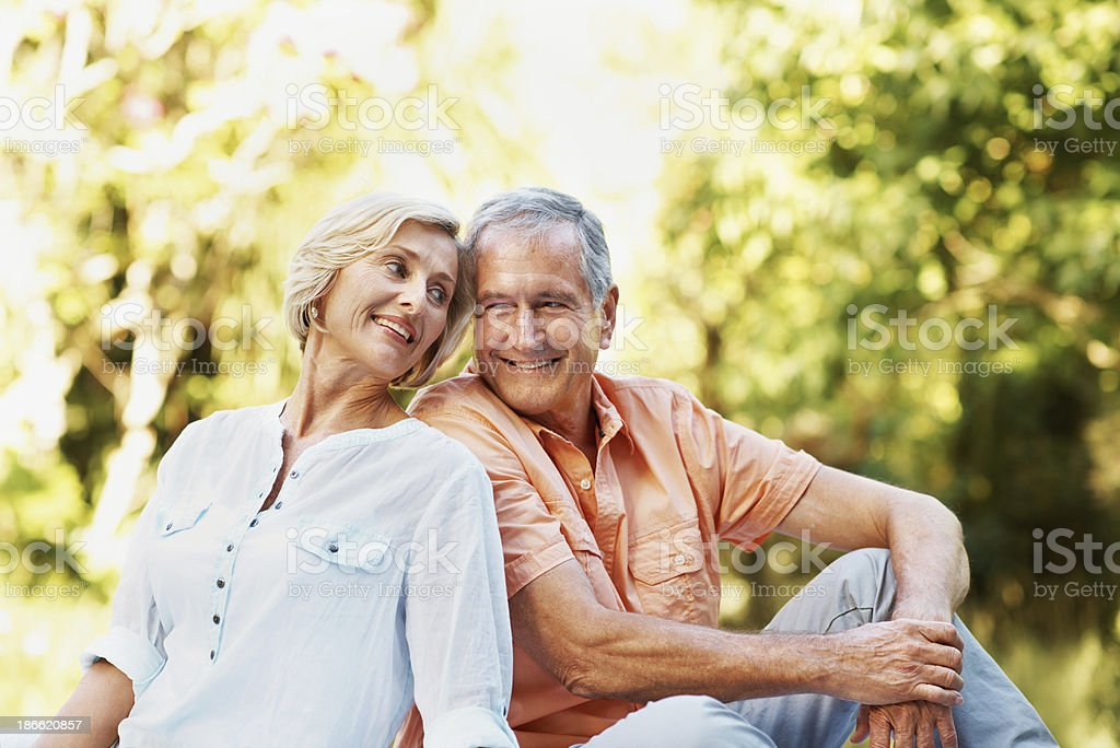 They're more in love than ever royalty-free stock photo