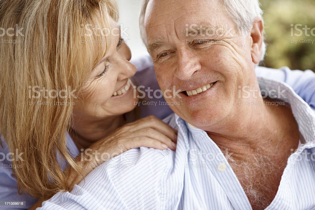 They're so in love royalty-free stock photo