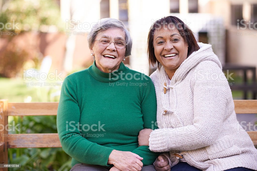 They're still the best of friends stock photo