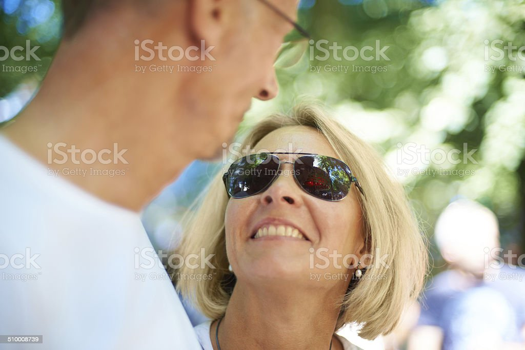 They're still young at heart stock photo