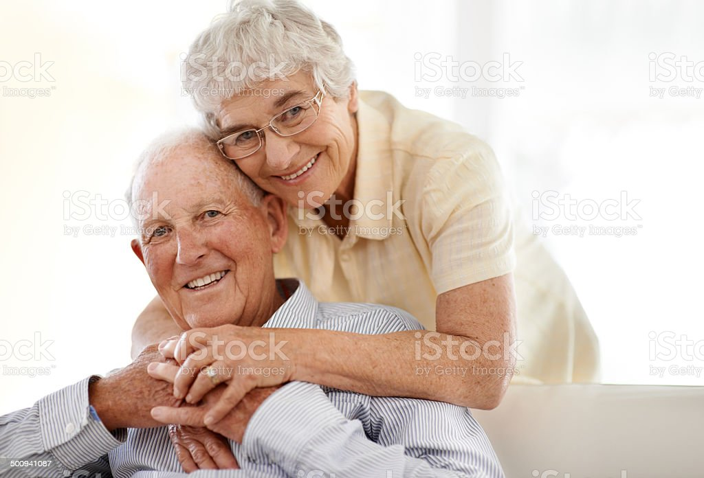 They've always been there for each other royalty-free stock photo