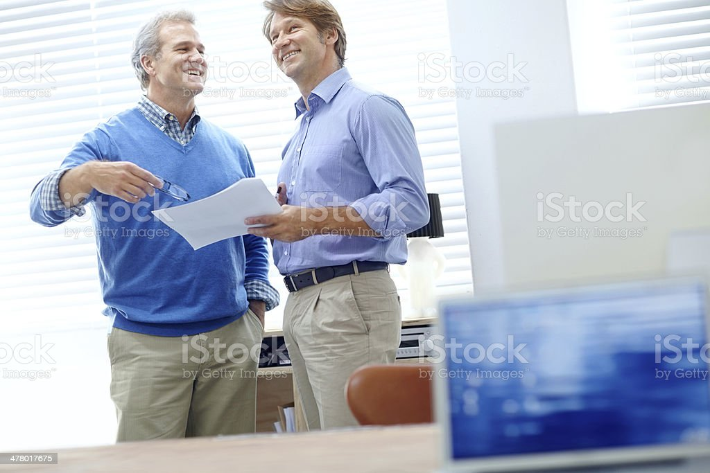They've been partners for years royalty-free stock photo