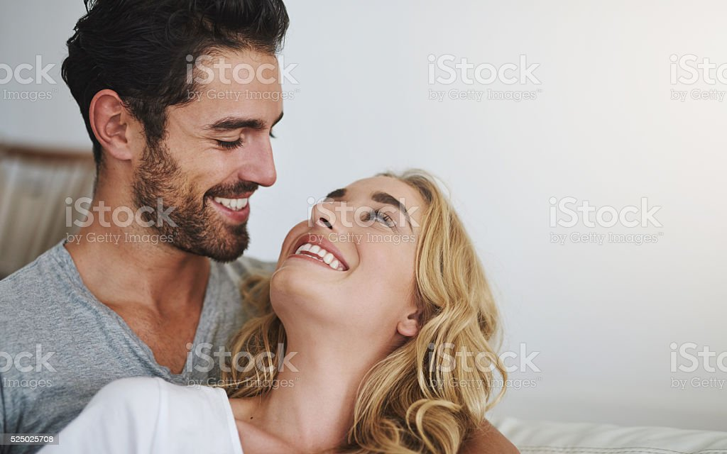 They've built their home on love stock photo