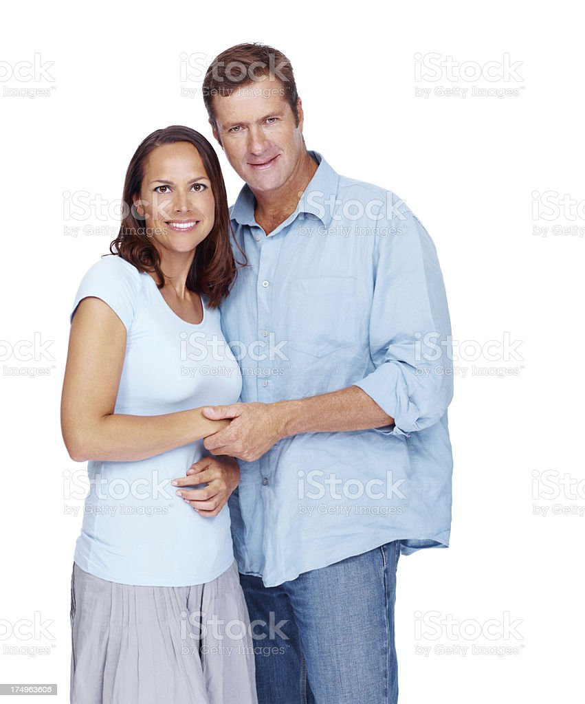 They've got a relationship that's built to last royalty-free stock photo