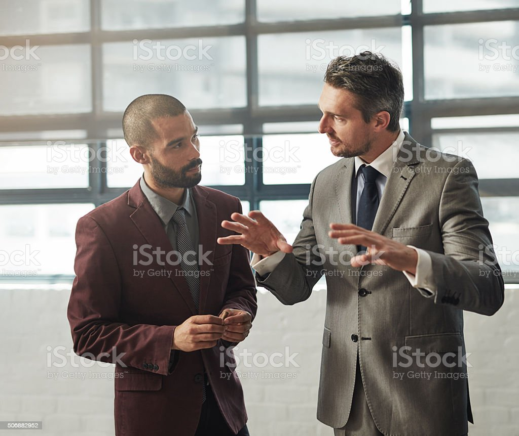 They've got some quality ideas stock photo