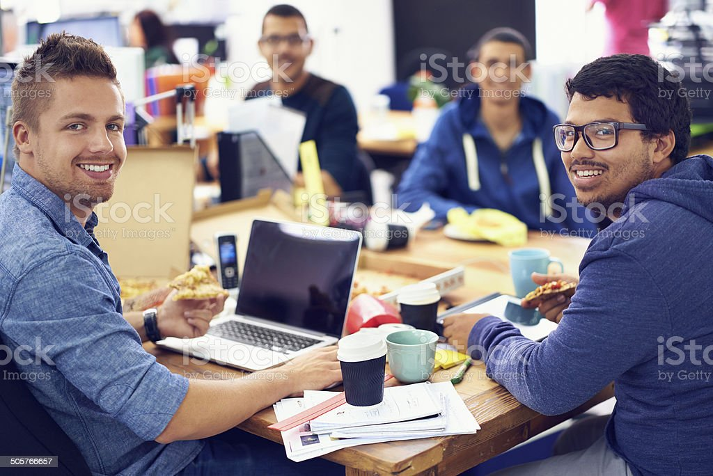 They've got the know-how stock photo