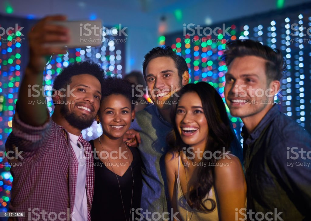 They've made it a night to remember stock photo