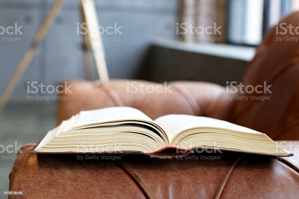 Thick book stock photo