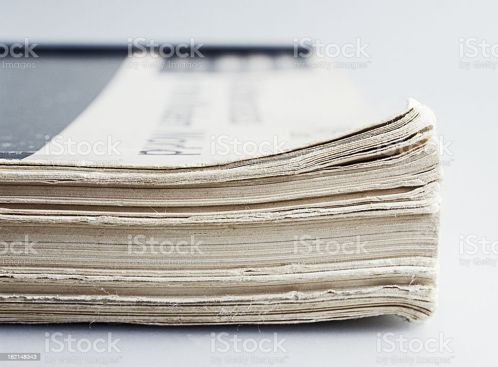 Thick Journal royalty-free stock photo