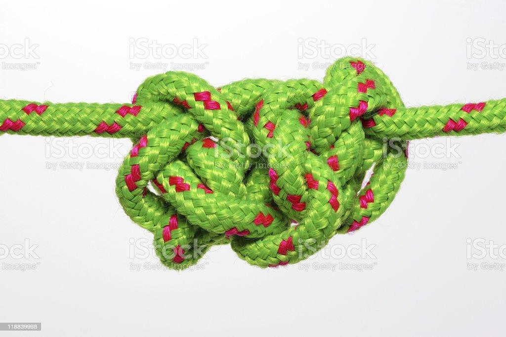 Thick knots royalty-free stock photo