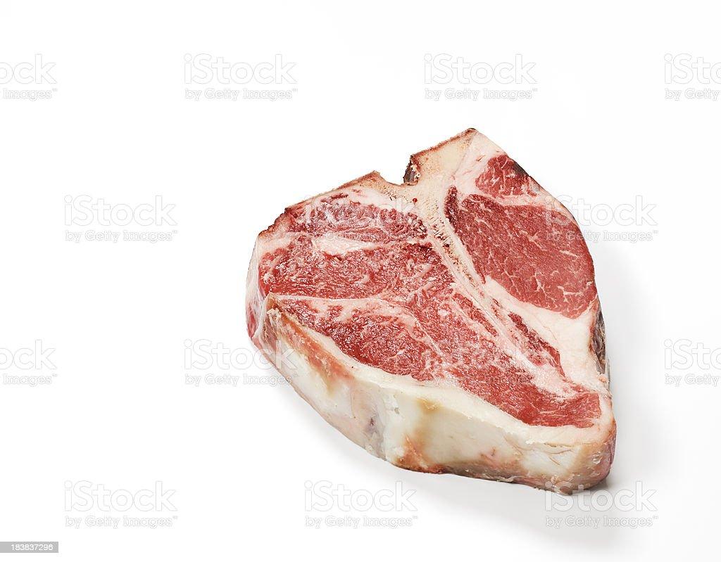 Thick Porterhouse Steak stock photo