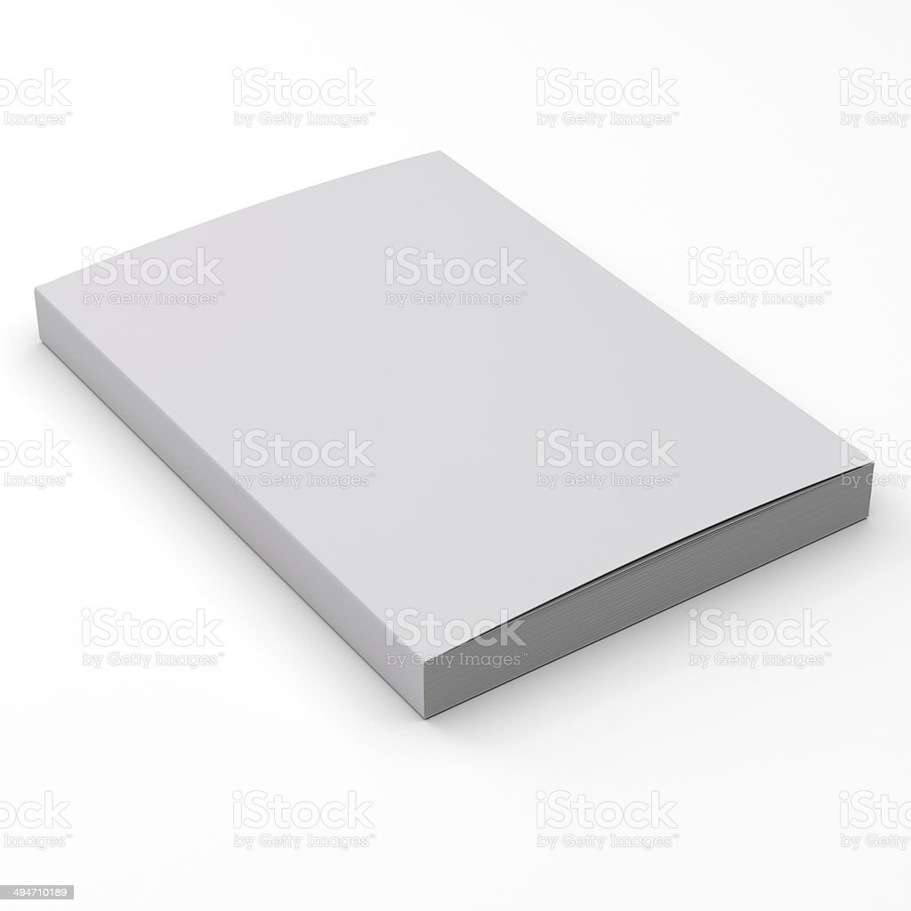 thick standard size catalog stock photo
