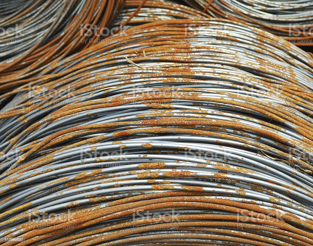 thick steel fitting royalty-free stock photo