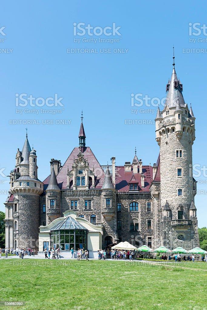 Thiele-Winckler Palace stock photo