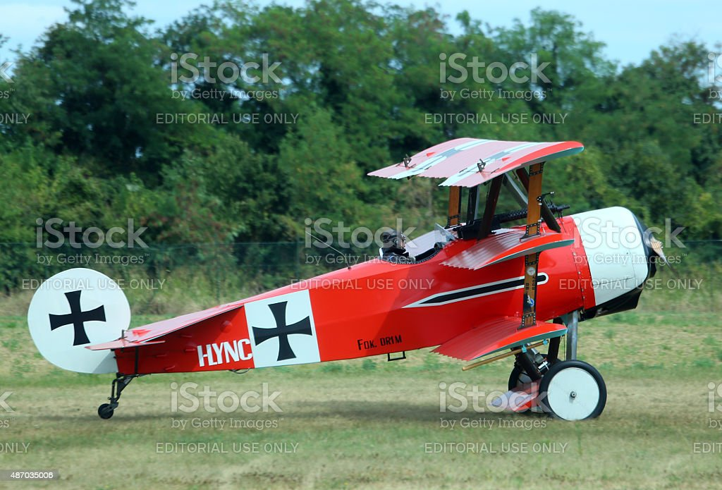 Thiene, Vicenza - Italy. 26th July, 2015: important air show stock photo