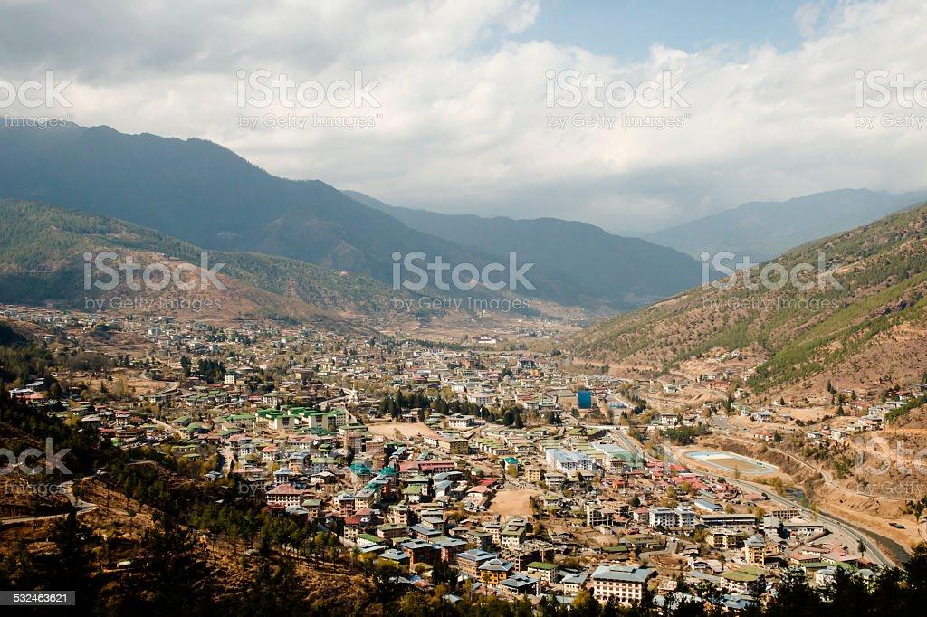 Thimphu - Bhutan stock photo