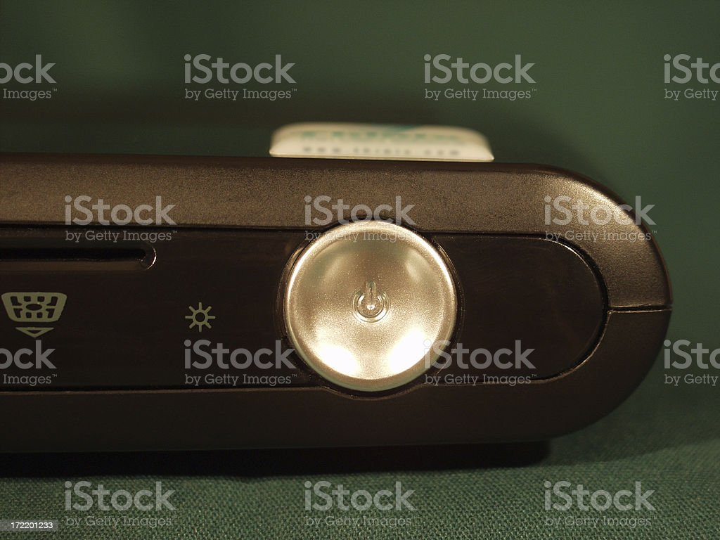 Thin Client Computer (Power Button) royalty-free stock photo