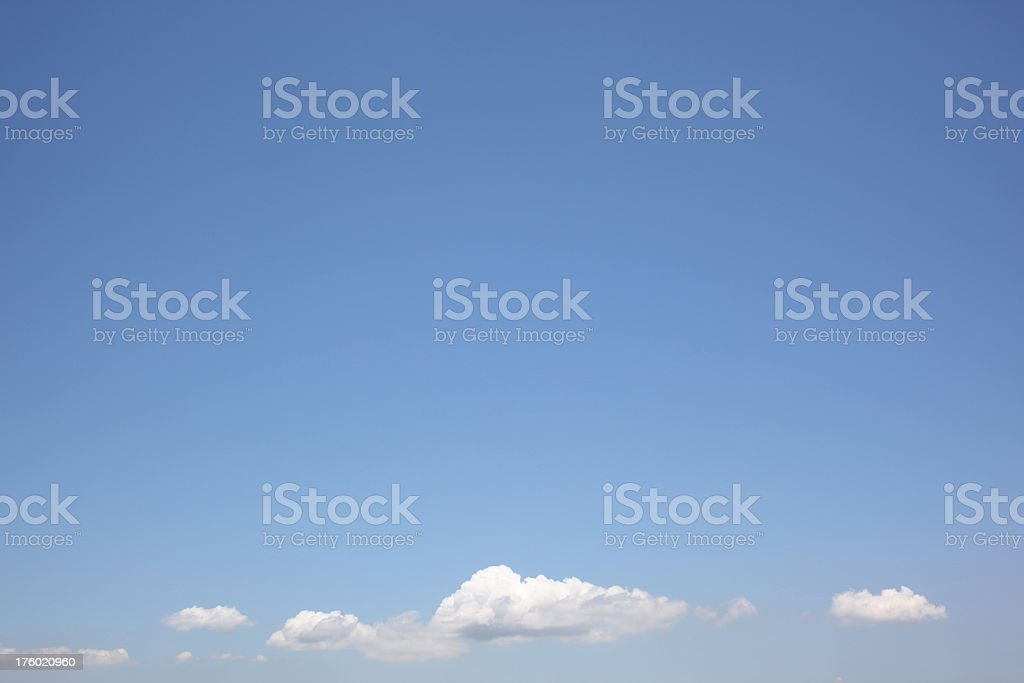 Thin Cloudscape royalty-free stock photo