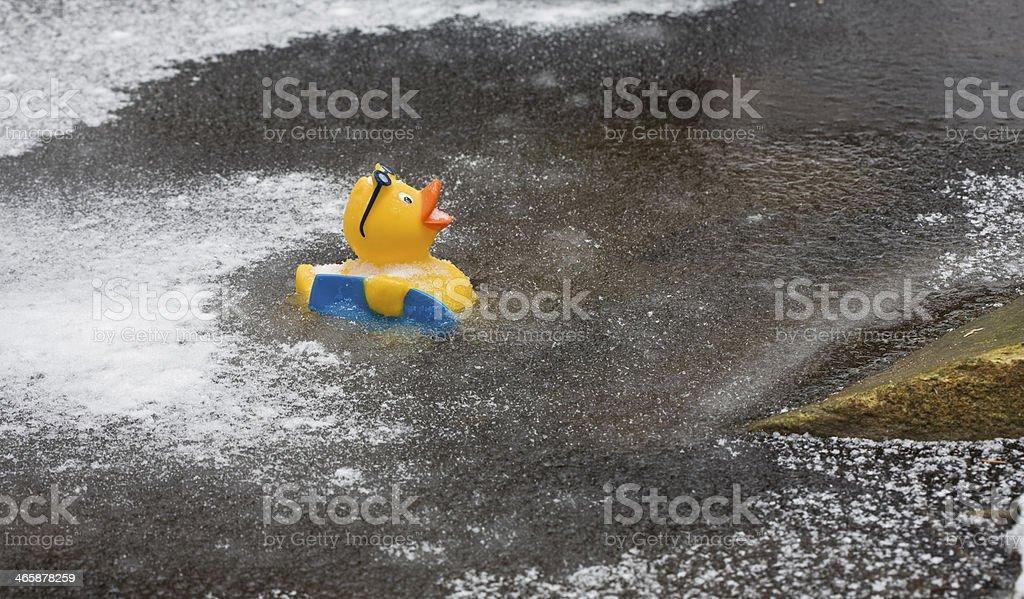 Thin Ice stock photo
